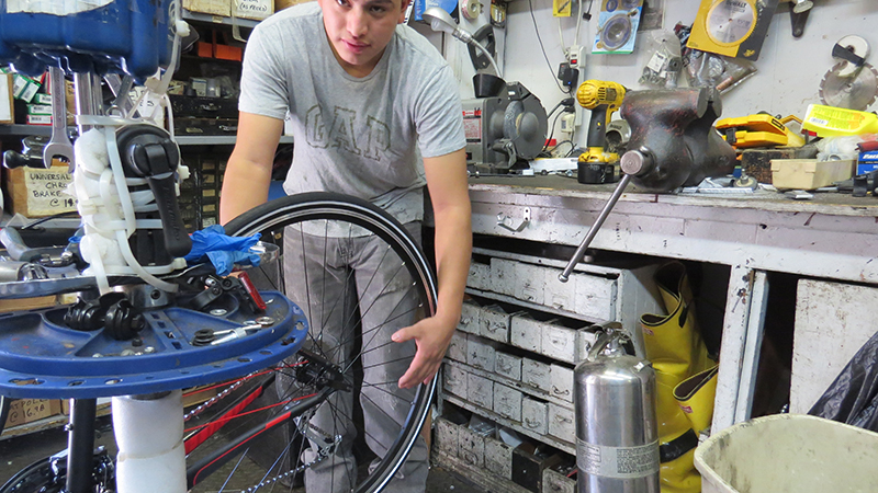 Bike Repair New York Bicycle Store Bellitte Bicycles